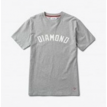 Diamond Arch Tee Heather Grey