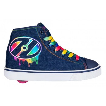 Heelys Veloz (HE100733) Denim/Rainbow/Drip