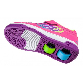 Heelys X2 Swerve (HE100775) - Hot Pink/Multi