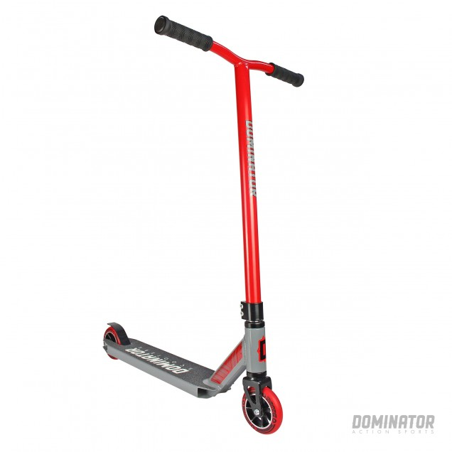 Dominator Ranger Complete Scooter - Red/Grey