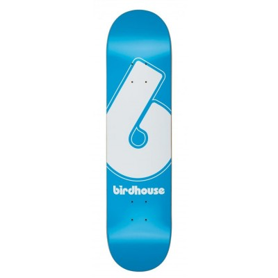 Birdhouse Giant B Logo Skateboard Deck - Blue 7.75""