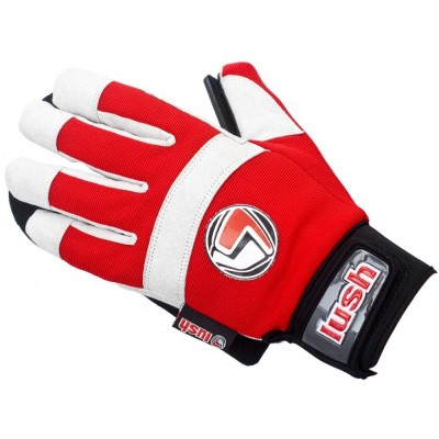 Lush Freeride Gloves Red