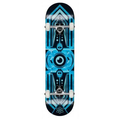 Rocket Surveillance Series Complete Skateboard - Aqua
