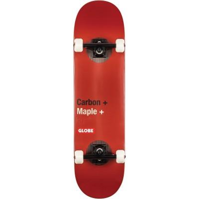 "Globe G3 Bar Complete Skateboard - 8"" Red"