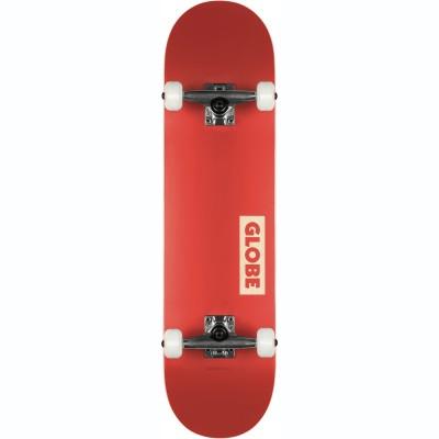 """Globe Goodstock Skateboard 7.75"""" - Red"""
