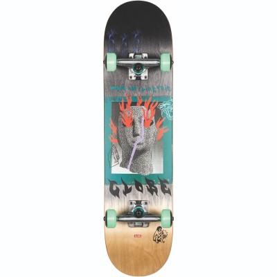 """Globe G1 Firemaker Skateboard 7.75"""" - Black/Natural"""
