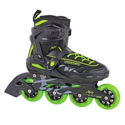 Tempish XT4 Inline Skates - Black/Green