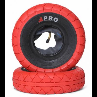 Street Pro Gum / Black walls tyres