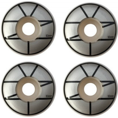 Zoo York Skateboard Wheels Emblem - Silver