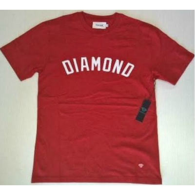 Diamond Arch Tee Heather Red