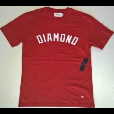 Diamond Arch Tee Heather Red