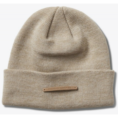 Diamond Facet Beanie in Heather ASH