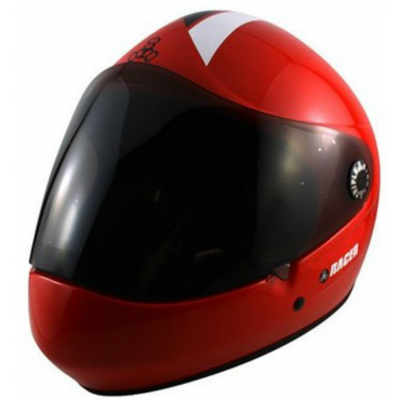 Triple 8 Racer Downhill Helmet Red