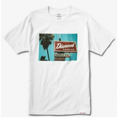 Diamond Deli Tee - White