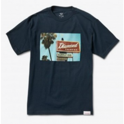 Diamond Deli Tee - Navy