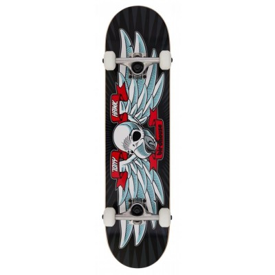 Birdhouse Stage 1 Flying Falcon Complete  Skateboard Black 7.5