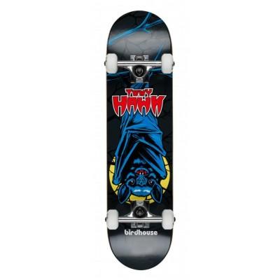 "Birdhouse Stage 1 Bat Mini Complete Skateboard Black 7.375"""