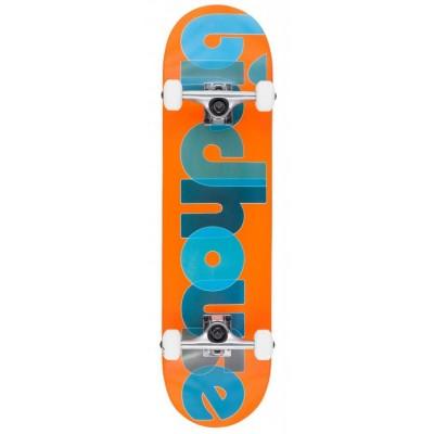 "Birdhouse Stage 1 Opacity Logo Complete Skateboard Orange -8"""