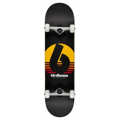 Birdhouse Stage 3 Sunset Complete Skateboard Black 8""