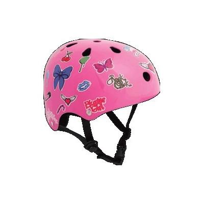 Sticker Helmet Pink