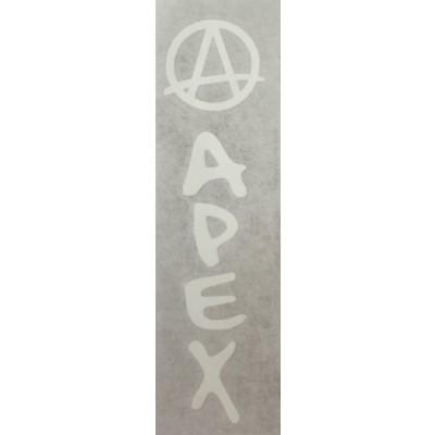 Apex Bar Sticker - White