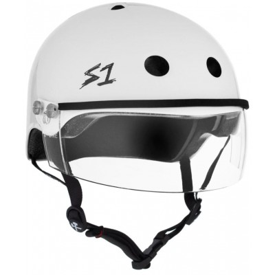 S1 Lifer Multi Impact Visor Helmet – Black Gloss