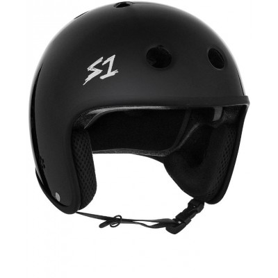S1 Multi Impact Retro Lifer Helmet - Matte Black