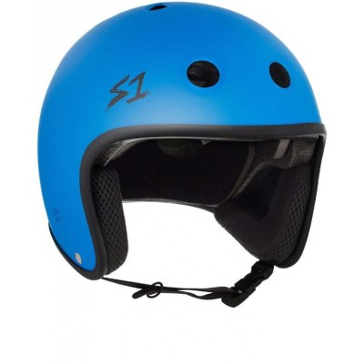 S1 Multi Impact Retro Lifer Helmet - Cyan Matte