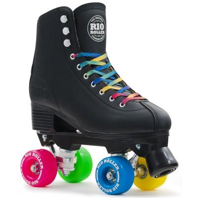 Rio Roller Figure Quad Skates - Black