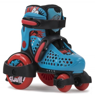 SFR Stomper Kids Skates - Blue/Red