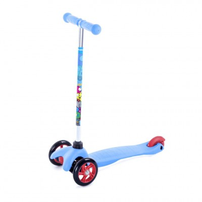 Spokey Kids 3 Wheel Scooter - Blue