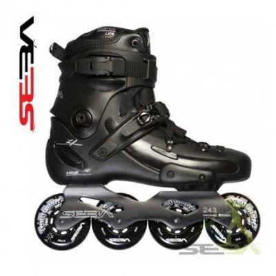 Seba FreeRide FR2 80 Inline Skates 2014 Black