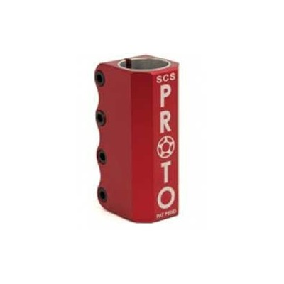 Proto SCS Scooter Clamp Red