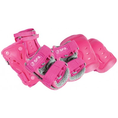 Essentials Triple Pad Set Girls Pink