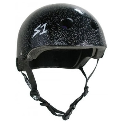 S One Lifer Helmet - Black Glitter