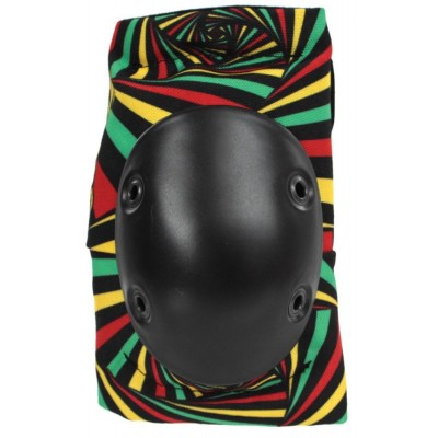 Smith Scabs Elite Elbow Pads - Hypno Rasta