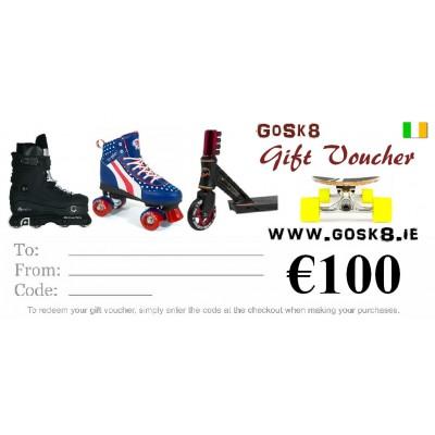 GoSk8 €100 Gift Voucher