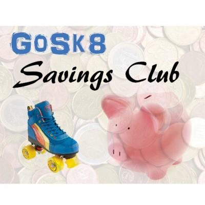 GoSk8 Savings Club Credit €1