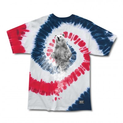 Grizzly Spirit Tee - Tie Dye