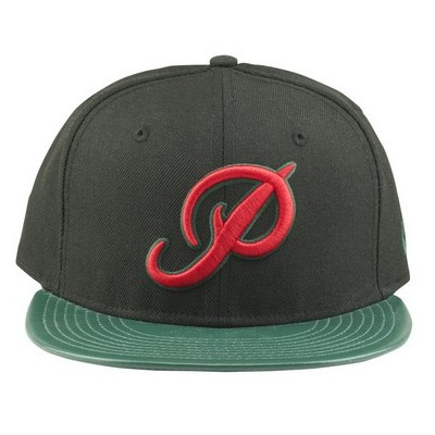 Primitive Apparel Chequered Snapback - Black/Green
