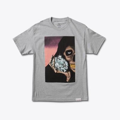 Diamond The Reaper T-Shirt - Grey
