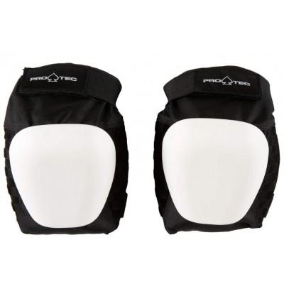 Pro - Tec Skate / Drop - In Knee Pads - Black / White