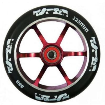 Crisp Alloy Core Wheel 125mm – Red/Black