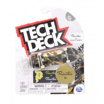 Tech Deck 96mm Fingerboard - Primitive Black/Gold