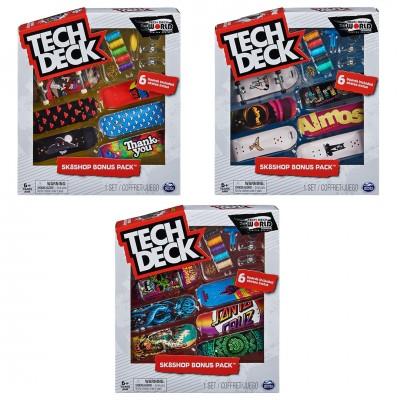 Tech Deck Bonus Sk8 Shop 6 Pieces (M16)