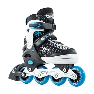 SFR Pulsar Adjustable Inline Skates - Blue