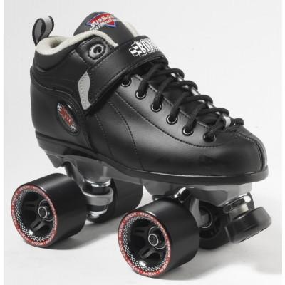 Suregrip Quad SkatesBoxer DerbyBlack