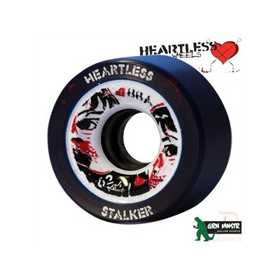 Heartless Stalker Wheels - Midnight 62mm 88A