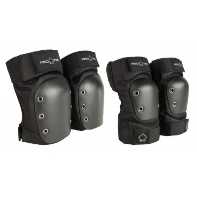 Pro-Tec Pad Set Knee/Elbow Pad Set  Adult