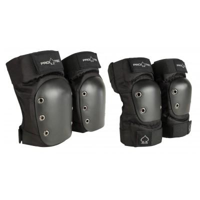 Pro-Tec Pad Set Knee/Elbow Pad Set  Adult